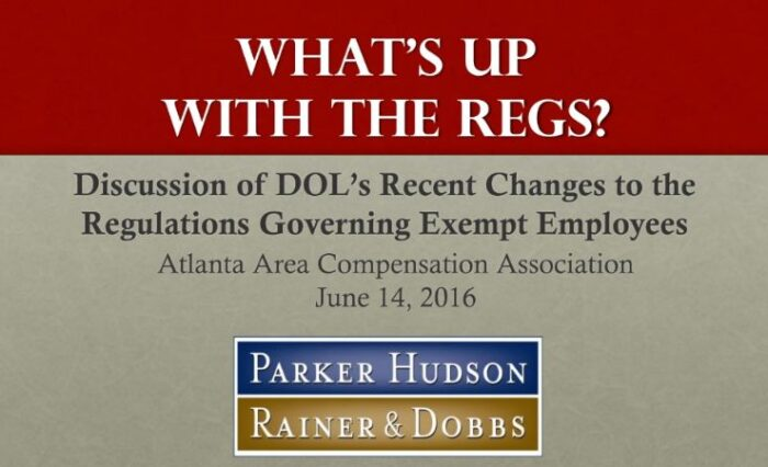 2016 fair labor standards act implications