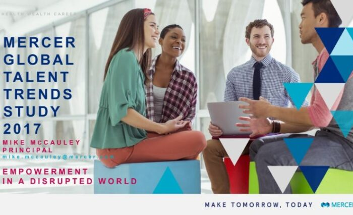 2017 mercer global talent trends study