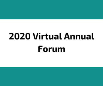 2020 Forum