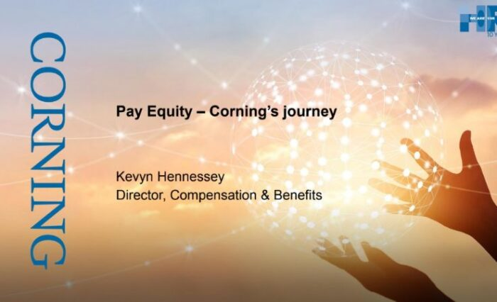 pay equity cornings journey