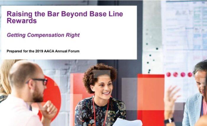 raising the bar beyond base line rewards